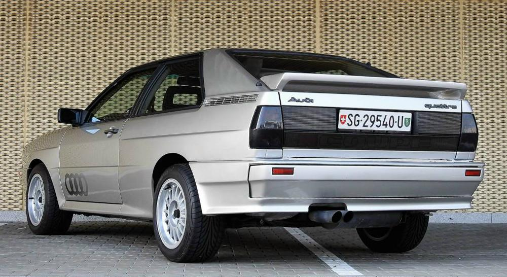 Bild 5: Occasion Audi quattro Turbo Coupé