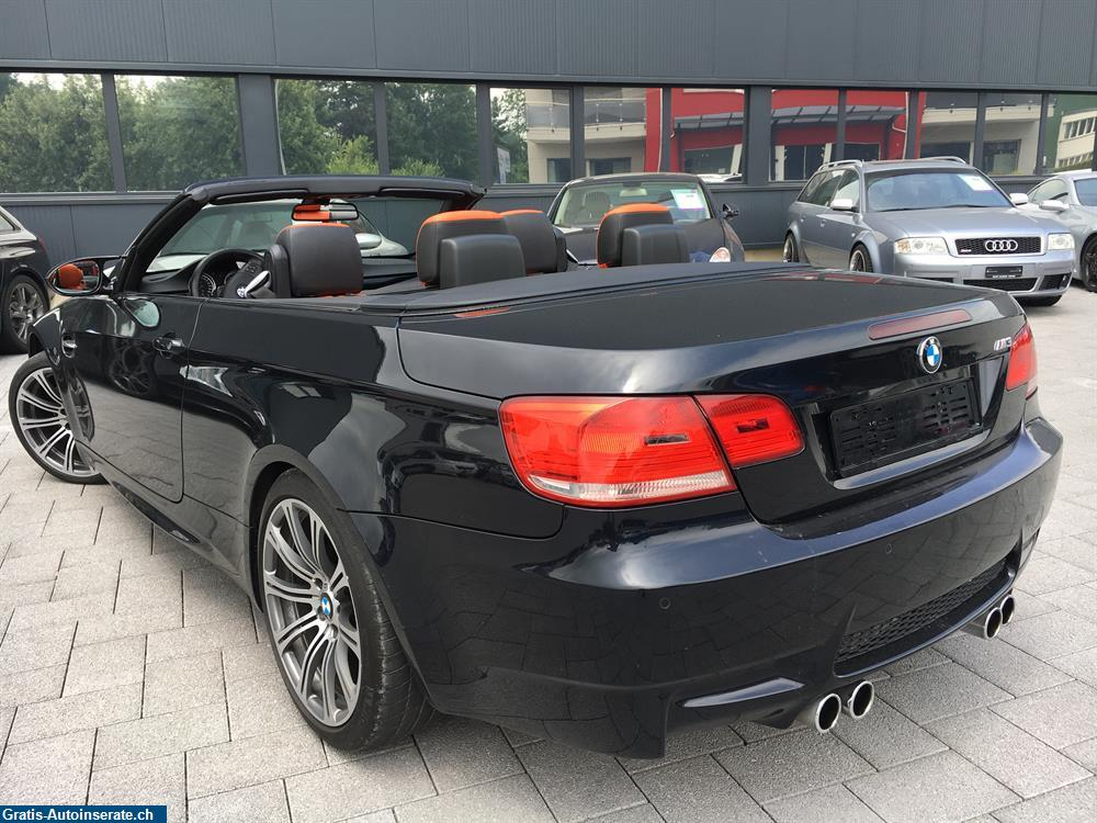 occasion bmw m3 cabriolet dsg cabrio inserat 35938. Black Bedroom Furniture Sets. Home Design Ideas