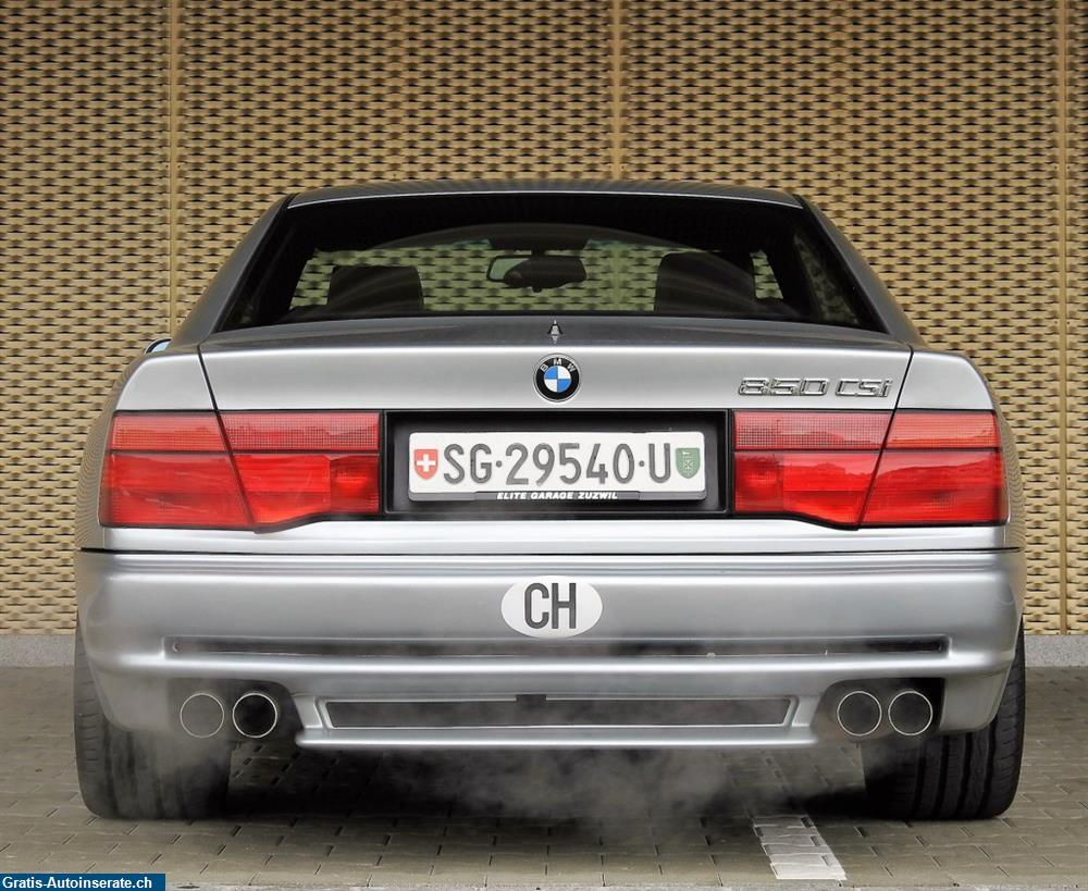 Bild 4: Occasion BMW 850CSi Coupé