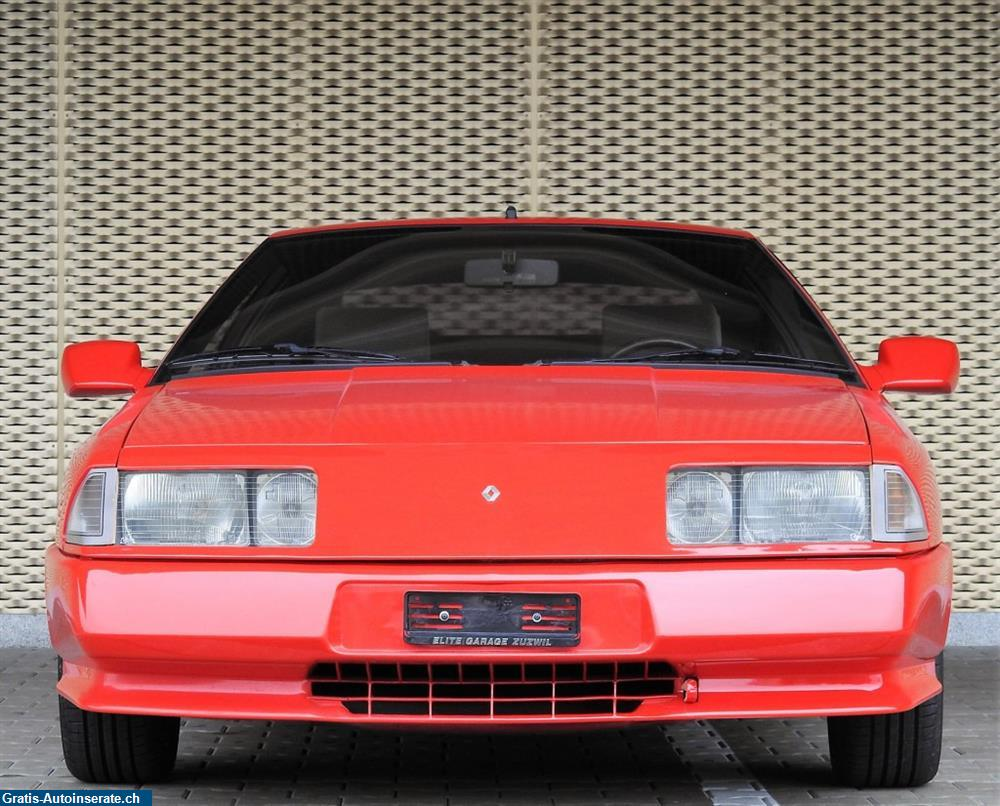occasion renault alpine  turbo coupe inserat