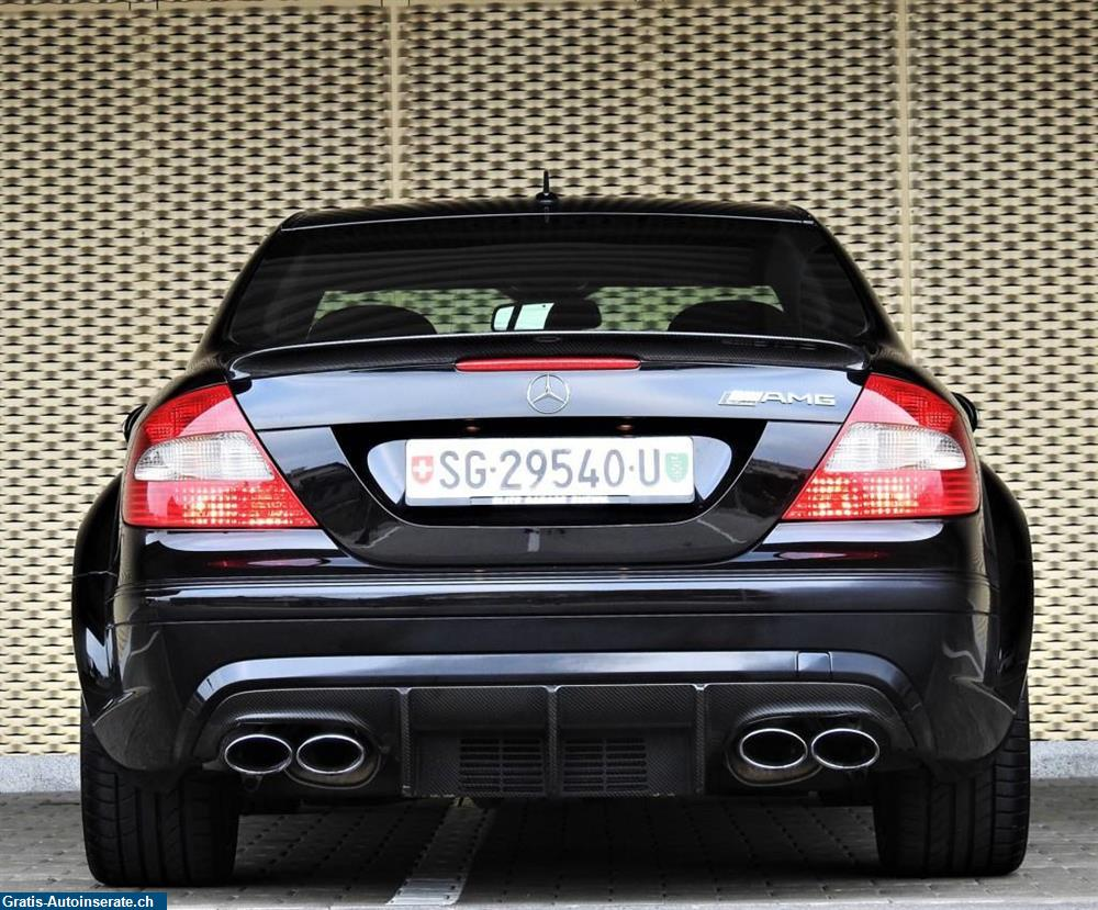 Bild 4: Occasion Mercedes-Benz CLK 63 AMG Black Series 7G-Tronic Coupé