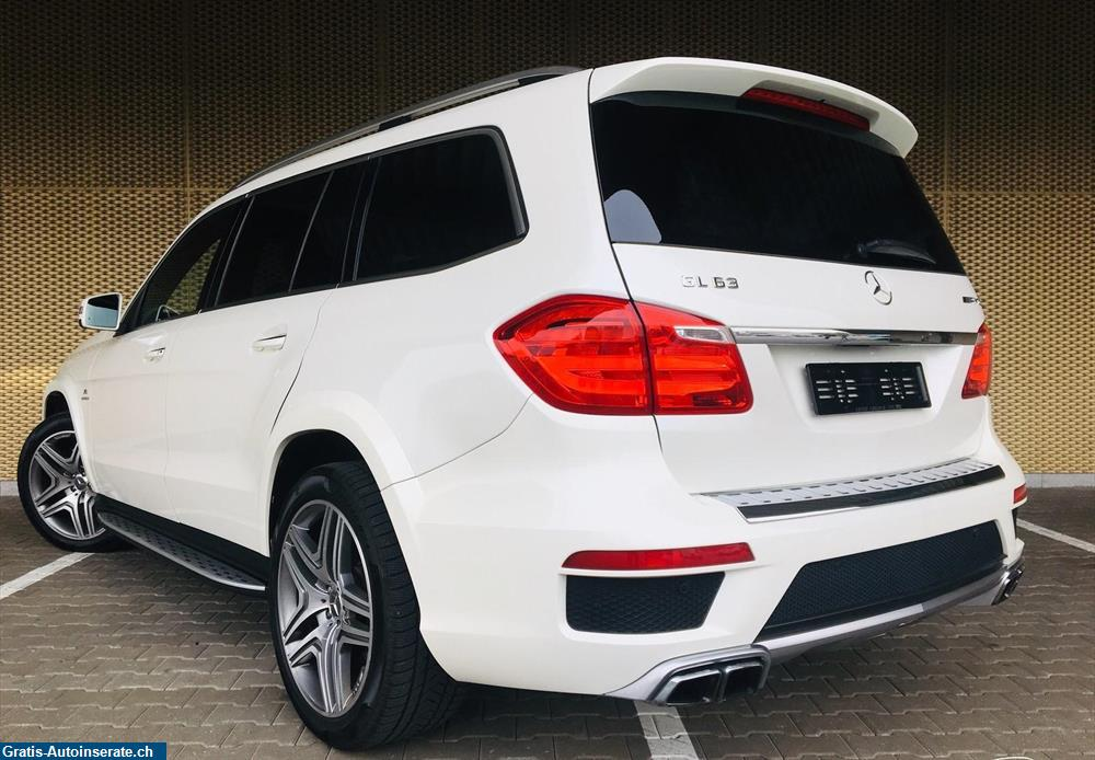 Bild 3: Occasion Mercedes-Benz GL 63 AMG 4Matic Speedshift Plus 7G-Tronic Geländewagen